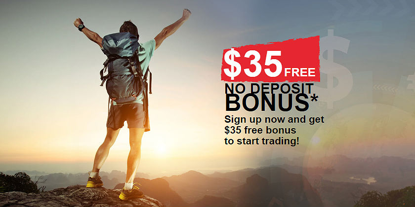 Free bonus sign up forex
